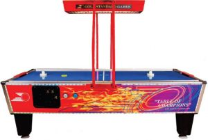 Shelti Gold Flare Air Hockey